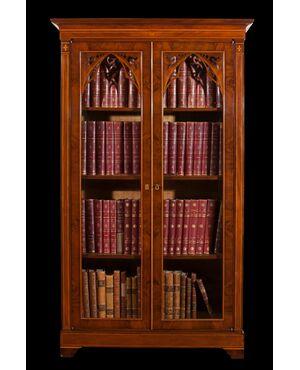 Coppia di librerie Carlo X Napoli