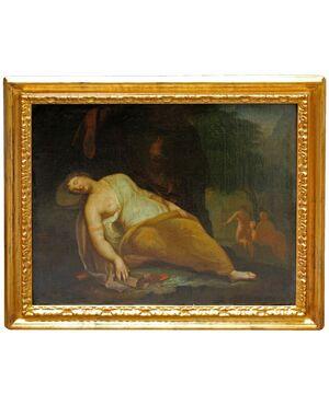 Morte di Virginia, XIX secolo, Olio su tela