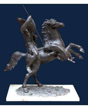 Tommaso Campajola, Guerriero a cavallo con lancia e fiera