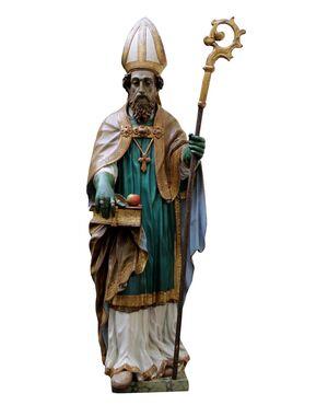 XVII secolo, San Nicola, Legno intagliato e policromo