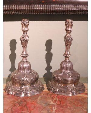 candelieri argento torretta 1751